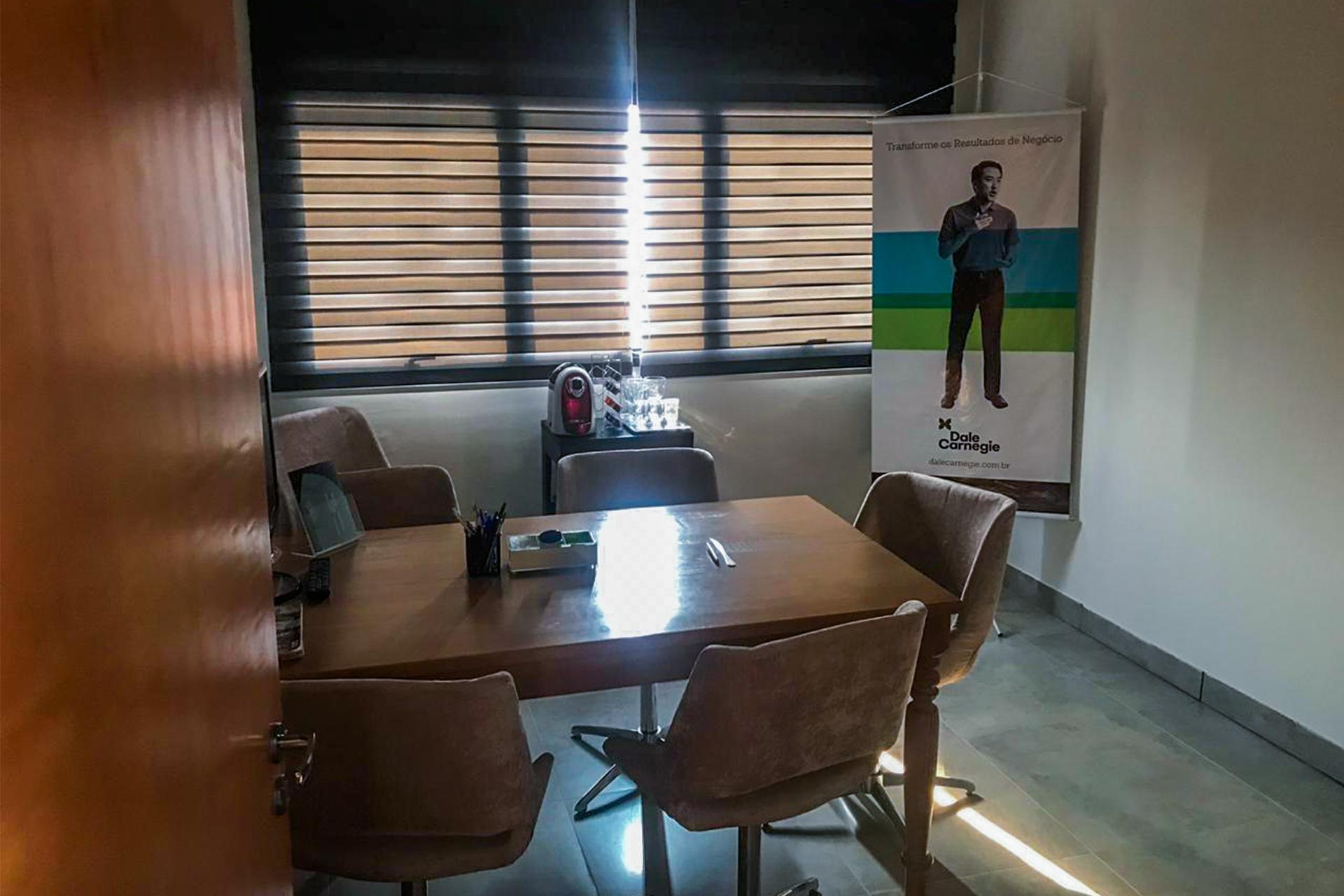 sala de reunião beeworking